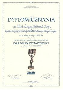 010_2008_wyroznienie_cala Polska czyta dzieciom