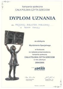 012_2005_wyroznienie_cala Polska czyta dzieciom