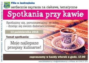 spotkania przy kawie plakat