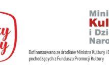"""po lewej stronie plakatu napis w ramce obrazującej granice Polski napis """" Mali wielcy polacy"""". po prawej stronie napis Ministerstwo Kultury i Dziedzictwa Narodowego. środkowy dół plakatu: dofinansowano ze środków Ministra Kultury i Dziedzictwa Narodowego pochodzących z Funduszu Promocji Kultury"""