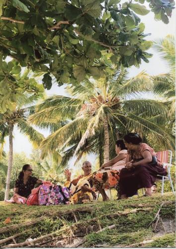 Festiwal Indyjski, Mauritius, plaża św. Feliksa,  grudzień 2019. Autorka: Ewa Beyga